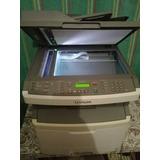 Fotocopiadora Multifuncion Laser Lexmark X264dn, Duplex, Red