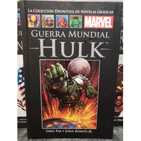 Marvel Guerra Mundial Hulk Novelas Graficas Salvat 54