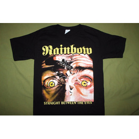 Gusanobass Playera Rock Metal Rainbow Talla Straight Small