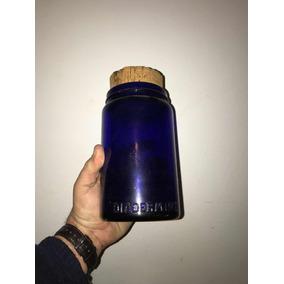 Frasco De Farmacia Antiguo Violeta