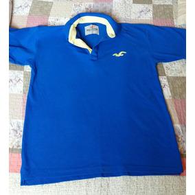 Camisa Polo Masculina Tamanho L Hollister