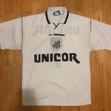 Camisa Santos Anos 90 Unicor - Camisa Santos Masculina no Mercado ... e4ce0bdc1c7b2