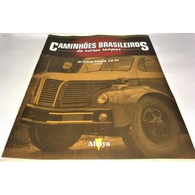 Fascículo Caminhões Brasileiros De O. Tempos Scania Vabis Ls