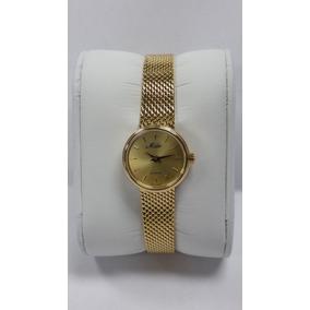 Remate Reloj Mido Dama Elegance Gold Nuevo En Caja