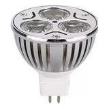 Foco Mr16 Led Lampara Mini Reflector 3w Luz Blanca Y Cálida