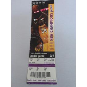 Ingresso Nba - Palyoffs 2003 Lakers
