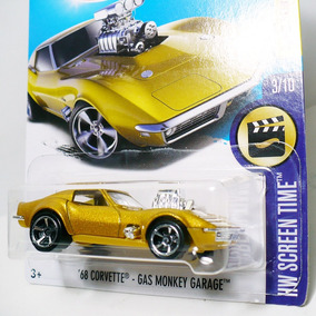 Hot Wheels Gas Monkey Garage 68 Corvette Chevrolet Hw S Time