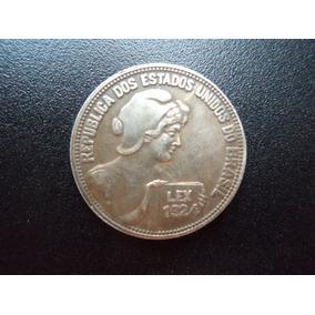 Moeda De 100 Réis De Lex 1924 - Réplica