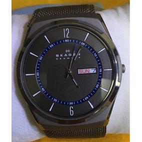 217616c33f0 Relógio Skagen Skw6055 Aktiv Quartz Black Masculino Tissot ...