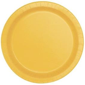 Papel De La Torta Placas, 20ct Amarillo Tamps