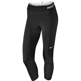 Lycra Nike Pro Cool Capri 725468-010 Negro Dama Oi