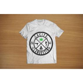 Camisetas Cacife Clandestino - Camisetas no Mercado Livre Brasil 2418acea251