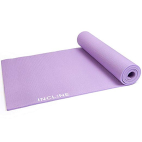 Incline Fit Alta Densidad Antideslizante Yoga Mat Ejercicio 7ced324f230b