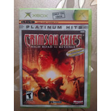 Videojuego Crimson Skies High Road To Revenge Xbox (2004)