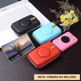 Estuche Forro Rígido En Eva Para Polaroid Snap -envío Gratis