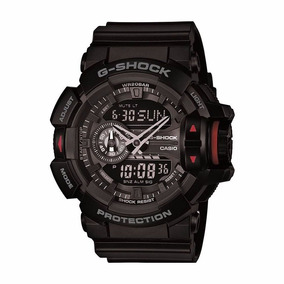 Relógio Casio G-shock Masculino Anadigi Preto Ga4001bdr
