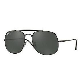Óculos De Sol Ray Ban 2018 Preto E Branco Lente Azul - Óculos no ... 523e123538