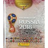 Album Panini Pasta Dura Platinium Mundial Rusia 2018