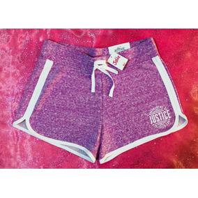 Shorts Sport Corto Marca Justice Original Niñas Talla14