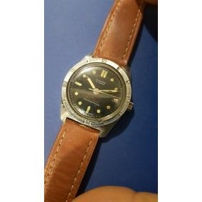 Reloj Diver Vintage Marca Yukon Swiss Madw