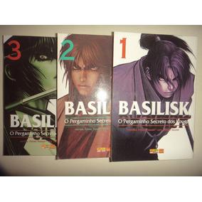 Manga Basilisk 1 2 3 Panini 2010 Excelentes Frete Gratis