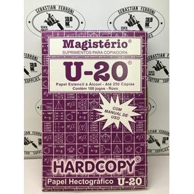 Papel Hectografico Magisterio U20 Brasil Por 100unid. Tattoo