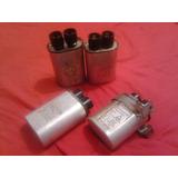 Capacitor De Microondas De 0.80 Uf Y 0.75 Uf ! Usado !