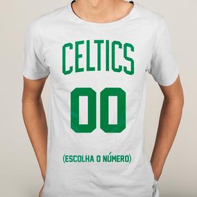 f2578327eb Camisa Nba Boston Celtics Branca - Camisetas e Blusas no Mercado ...