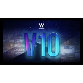 Waves - Completão - V10 - Mac Ou Win + Suporte Na Instalação