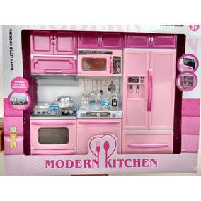 Kit Cozinha Infantil 3 Mod.geladeira Lava Louça Frete Grátis