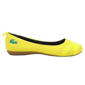726548355 Sapatilha Da Prego Dourada Feminino Sapatilhas Lacoste - Sapatos no ...