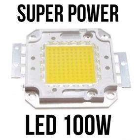 15pcs Super Led Chip 100w 36v Branco Frio