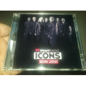 Bon Jovi Cd + Dvd Iheart Radio Icons 2018