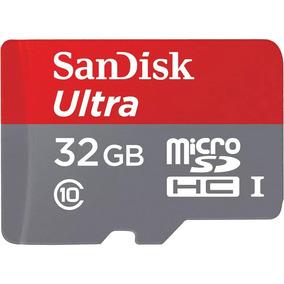 Cartão Micro Sd Ultra 32gb Sandisk 80mb/s Classe 10 Original