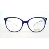 Armação Feminina Atitude Óculos Redonda Grande At6179i T02 338fac6dd0
