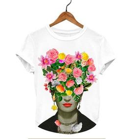 7704bac0a35d9 Catrinas Frida Kahlo - Playeras Otras Marcas de Mujer en Mercado ...