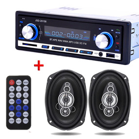 Stereo Bluetooth Estereo 20158 Auto Usb Mp3 Fm + 2 Parlantes