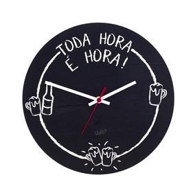 14777539e9a Relogio Parede Analogico 24 Horas - Relógios no Mercado Livre Brasil