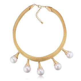 Collar Con Cristales, Ocean Heart Oh16-925