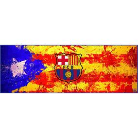 Lienzo Tela Canvas Poster Bandera Barcelona Fc 35 X 100 Cm 9a4fa6a6f12
