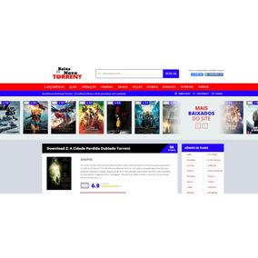 Template Wordpress Para Sites De Download Torrent Responsivo