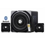 Minicomponente Bluetooth 2.1 Woofer Bocinas Usb Sd 55 Watts