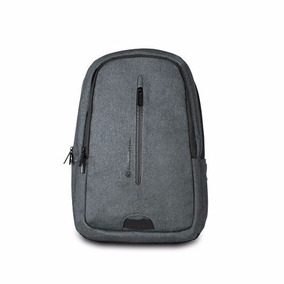 Backpack Wynwood Cool Capital 15.6 Gris Oscuro