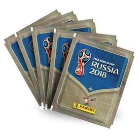 100 Envelopes De Figurinhas Copa Do Mundo 2018