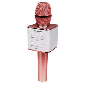 Microfono Karaoke - Bluetooth Ranser Mc-ra70ro