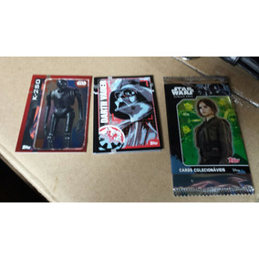 Lote 5 Cards Avulsos Star Wars Rogue One