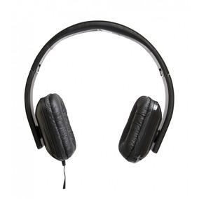 Fone Tipo Headphone Dobrável Microfone Vivitar Ta-41hp Preto
