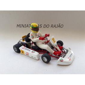 Ducati + Kart Ayrton Senna 1/18 Pauls Model Kit