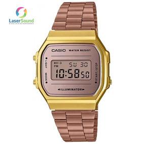 663782ee5f7 Relogio Feminino Rosé Fosco - Relógio Casio no Mercado Livre Brasil