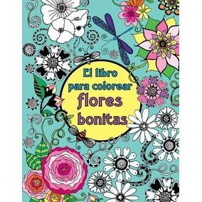 S L269192b Libro Piolin Flores Azul Para Colorear C En Mercado Libre